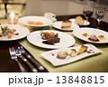 フレンチのコース料理 13848815
