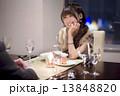 ディナー 夕食 女性の写真 13848820