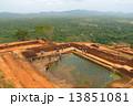 スリランカ シギリヤロック 遺跡の写真 13851081