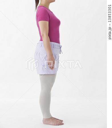 太めの女性 13853301