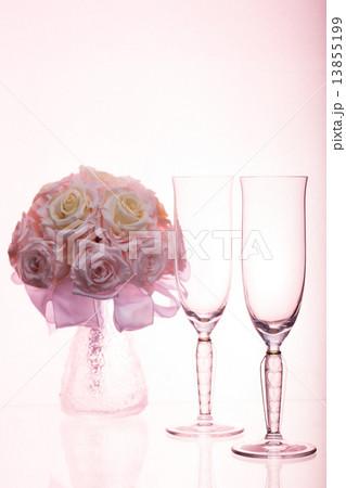 ワイングラスの写真素材 [13855199] - PIXTA