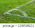 corner point on the football field soccer 13858621