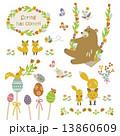 春の動物たち 13860609