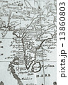 グローバル 世界地図 古地図の写真 13860803