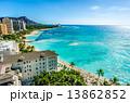ハワイのビーチ 13862852