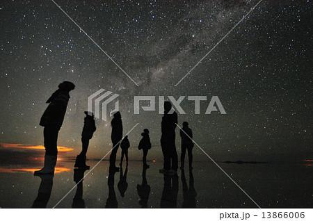 星空 ウユニ塩湖 13866006