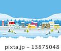 冬 街 街並み 建物 家 13875048