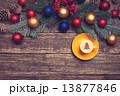 クリスマス バックグラウンド 背景の写真 13877846