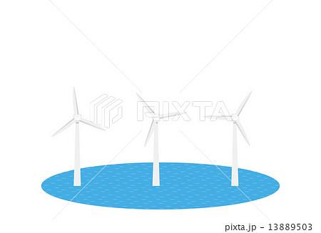風車 風力 風力発電  13889503