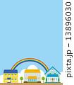 住居 一戸建て ベクターのイラスト 13896030