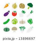 野菜アイコン 13896697