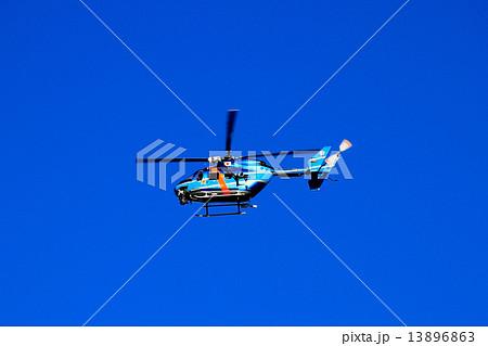 埼玉県警ヘリ むさし Police Helicopter  13896863