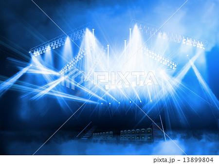 舞台の照明 13899804