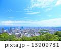 都市風景 高層ビル群 13909731