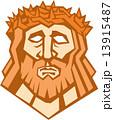 イエスキリスト 冠 とげのイラスト 13915487