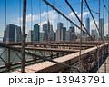 ブルックリンブリッジ ブルックリン・ブリッジ ブルックリン橋の写真 13943791