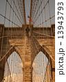 ブルックリンブリッジ ブルックリン・ブリッジ ブルックリン橋の写真 13943793