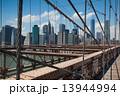ブルックリンブリッジ ブルックリン・ブリッジ ブルックリン橋の写真 13944994