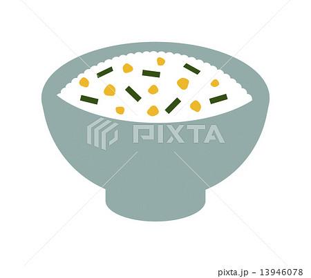ふりかけごはんのイラスト素材 13946078 Pixta