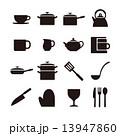 キッチンアイコン 13947860
