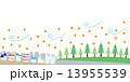 花粉飛散 花粉 杉のイラスト 13955539