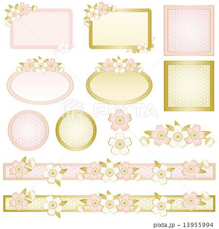 桜アイコンのイラスト素材 [13955994] - PIXTA