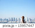 東京とビジネスウーマン 13957447