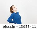 女性 若い 人物の写真 13958411