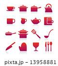 キッチンアイコン 13958881