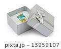 Gold ring in gift box 13959107
