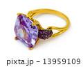 Macro of gold ring 13959109