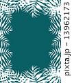 椰子の葉 椰子 ヤシ 緑の葉 熱帯 トロピカル 暑い ハワイ 沖縄 バリ バリ島 グアム リゾート 風 爽やか 自然 空 旅行 夏 木 夏休み 休暇 熱帯性 パーム 背景 シルエット 緑 フレーム 枠 13962173