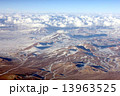 山岳 アンデス 雲の写真 13963525