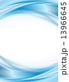 Abstract blue wavy background 13966645