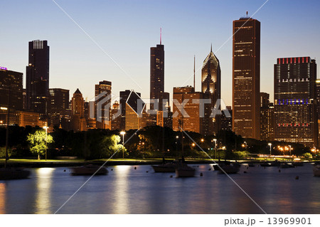 Chicago during summer