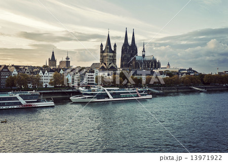 Cologne skyline Cologne Cathedral 13971922
