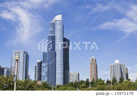Buildings of South Loop in Chicago