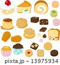 ケーキと洋菓子 13975934