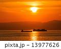 夕焼け 日没 夕日の写真 13977626