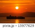 夕焼け 日没 夕日の写真 13977629