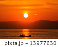夕焼け 日没 夕日の写真 13977630