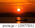 夕焼け 日没 夕日の写真 13977631