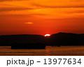 夕焼け 日没 夕日の写真 13977634