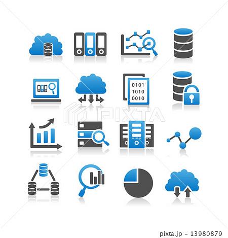 Big Data icon 13980879