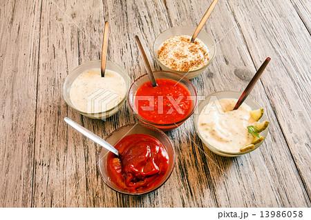 different saucesの写真素材 [13986058] - PIXTA