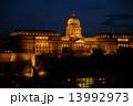 ハンガリー-ブダペストの夜景(王宮の丘) 13992973