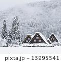 冬の白川郷 13995541