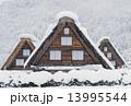冬の白川郷 13995544