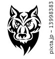 オオカミ ワイルド 野生のイラスト 13998383