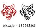 オオカミ ワイルド 野生のイラスト 13998398